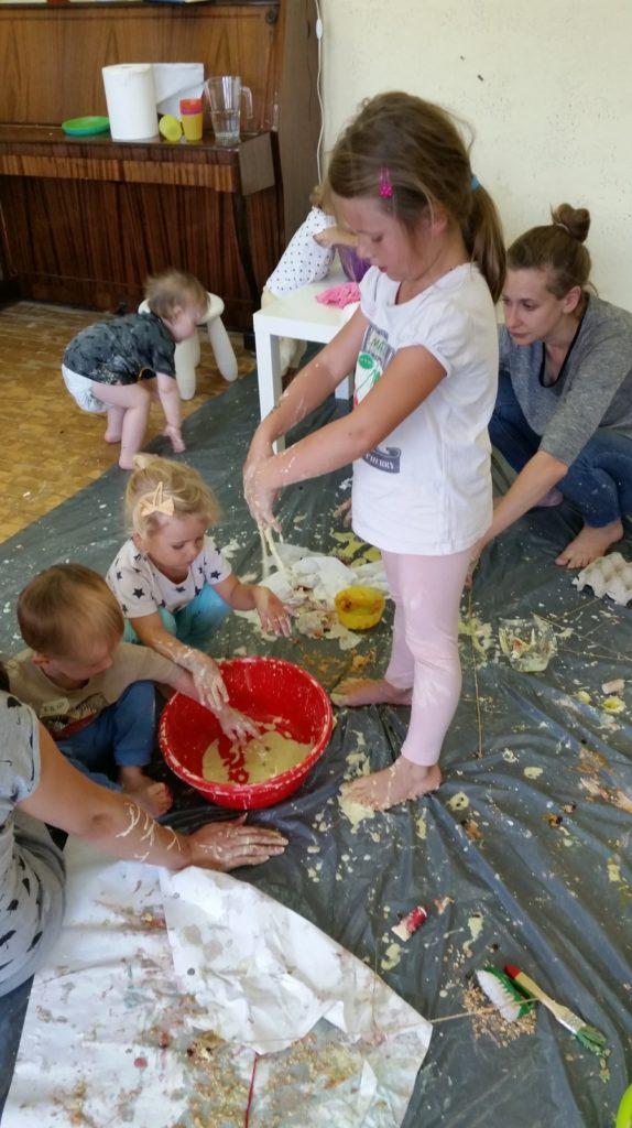 zajęcia sensoplastyczne dla dzieci